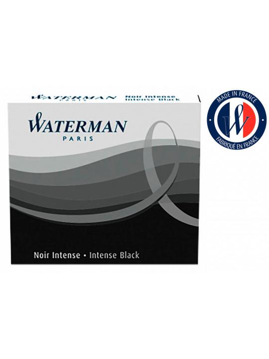 Картридж Waterman International 52011 (S0110940) черный чернила для ручек перьевых (6шт)