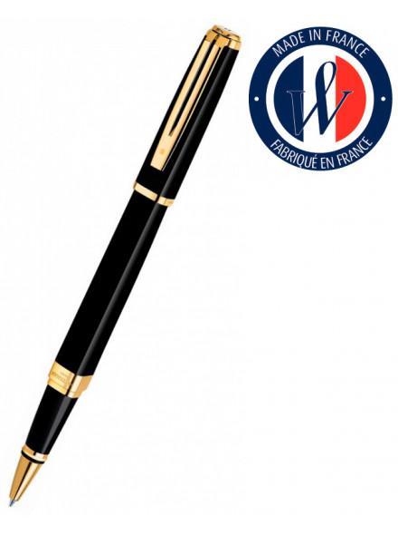 Ручка роллерн. Waterman Exception Slim (S0636990) Black GT подар.кор.