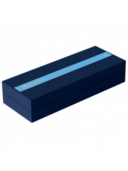Ручка шариковая Waterman Exception Slim (S0637120) Blue ST M синие чернила подар.кор.