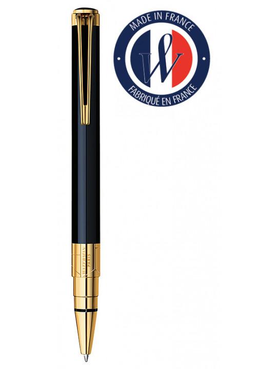 Ручка шариковая Waterman Perspective (S0830900) Black GT M синие чернила подар.кор.