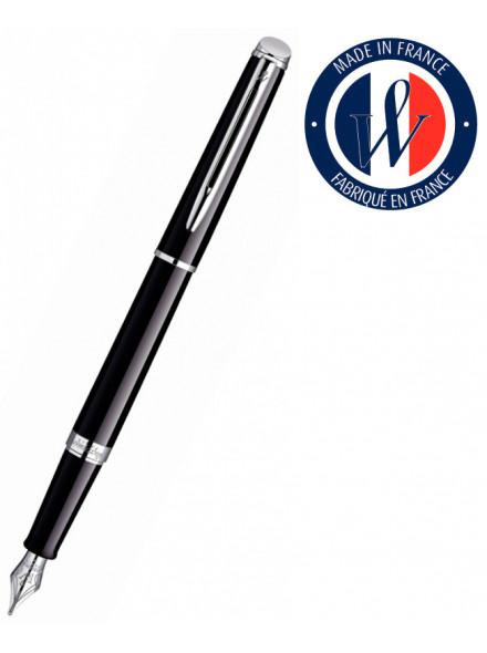 Ручка перьевая Waterman Hemisphere (S0920510) Mars Black CT F перо сталь с хромированным покрытием подар.кор.