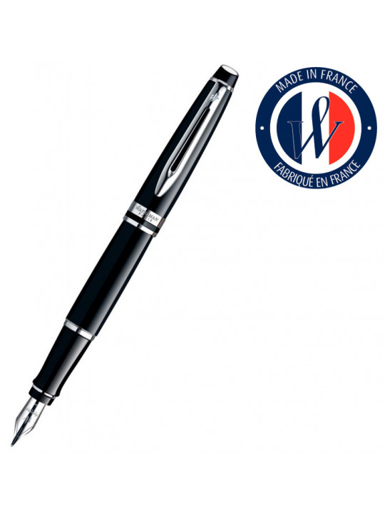 Ручка перьевая Waterman Expert 3 (S0951740) Black CT F перо сталь подар.кор.