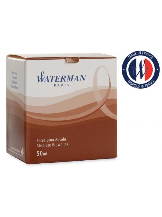 Флакон с чернилами Waterman Ink Bottle Brown 51068 (S0110830) для перьевых ручек