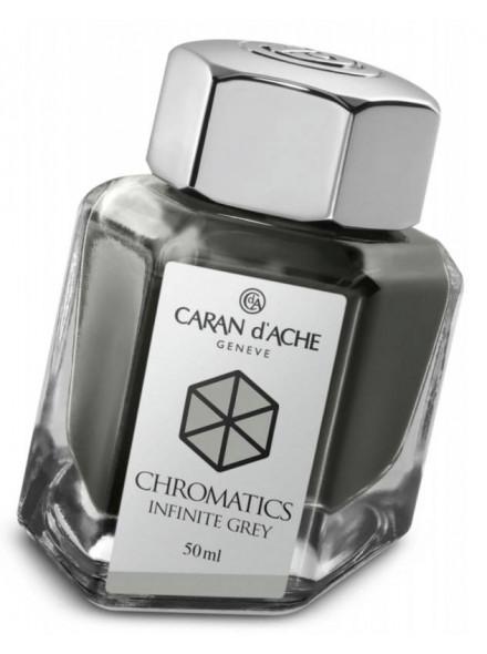Флакон с чернилами Carandache Chromatics (8011.005) Infinite grey чернила 50мл