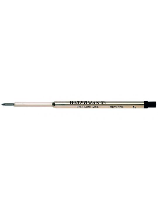Стержень стандартный для шариковой ручки Waterman черный F