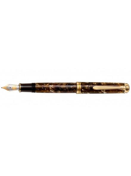 Перьевая ручка Pelikan Souveran M800 Renaissance Brown Special Edition перо M