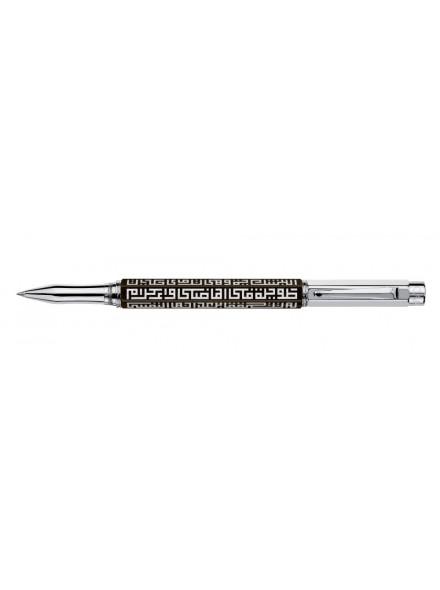 Ручка-роллер Caran d'Ache Kufi Art Shukor Yahya Ebony Silver Limited Edition