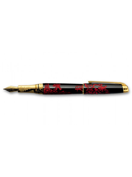 Перьевая ручка Caran d'Ache Year of the Dragon Li Qiang Sheng 2012 Limited Edition M