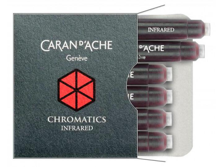 Картриджи Caran d'Ache Chromatics Infrared для перьевых ручек