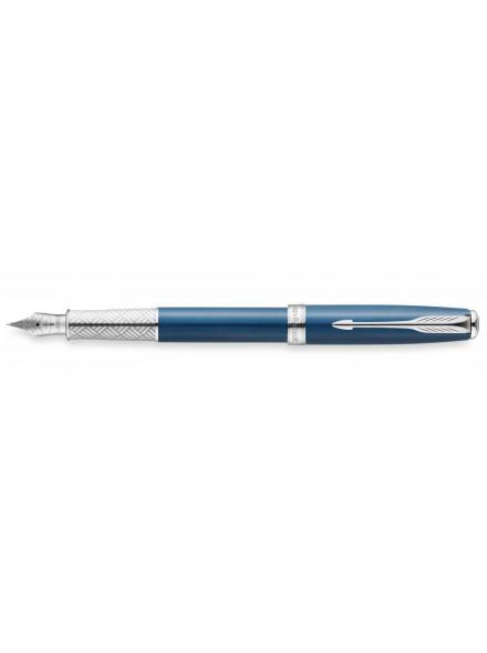 Перьевая ручка Parker Sonnet SE 2015 F533 Secret Blue Shell