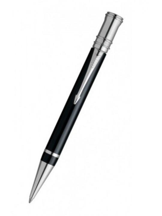 Ручка шариковая Parker Duofold K89 (S0690650) Black PT M черные чернила подар.кор.