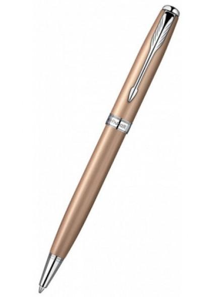 Ручка шариковая Parker Sonnet K540 (S0947290) Pink Gold PVD CT M черные чернила подар.кор.