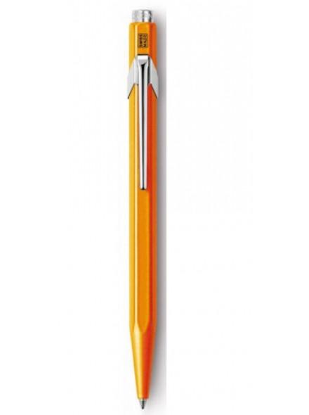Ручка шариков. Carandache Office Popline (849.530) Orange Fluo подар.кор.
