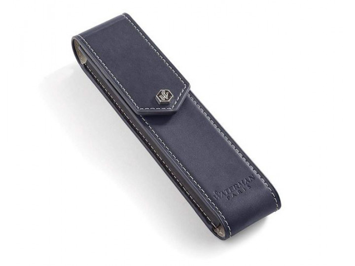 Чехол Waterman кожаный для ручки черный
