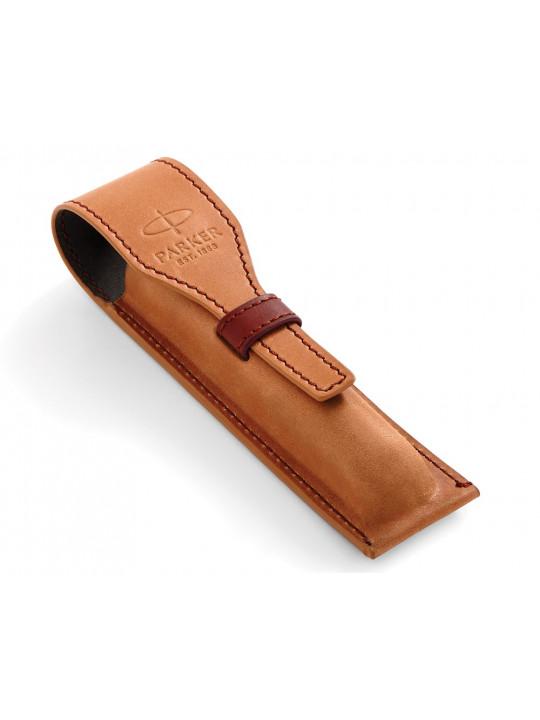 Чехол Parker кожаный для ручки коричневый